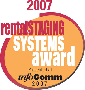 "LDS-610 Dimmer Wins ""RENTAL & STAGING SYSTEMS"" Award"