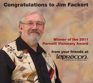 Leprecon President Jim Fackert to receive  2011 Parnelli Visionary Award